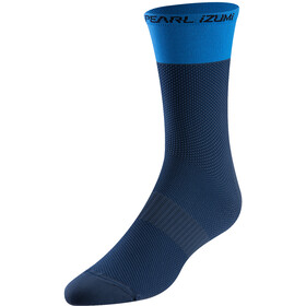 PEARL iZUMi Elite Tall Socks Men, navy/lapis